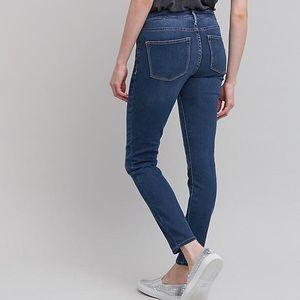 Pilcro Serif Mid-Rise Skinny Jeans